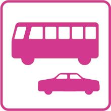 バス、タクシー